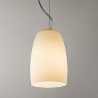 NEVADA 150 WHITE GLASS AND CHROME PENDANT | LV1702.0072