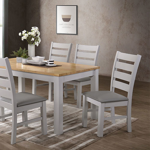 Columbia Grey Dining Chair 2