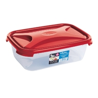 Cuisine 2.7ltr Food Storage Box Chili Red Lid
