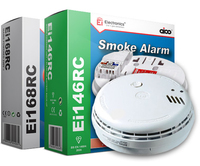Fire Alarm Mains B/Backup Optical Smoke 9v