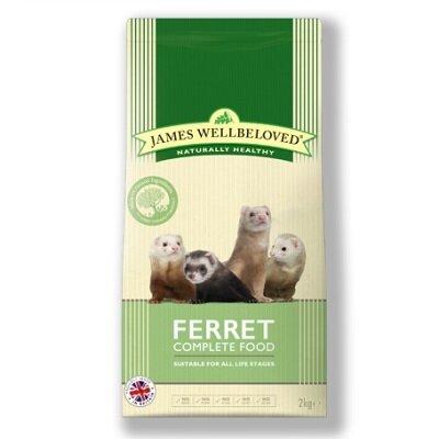 James Wellbeloved Ferret Complete 2kg