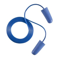 Corded and Detectable Earplugs 30210 (150 pairs per pack)