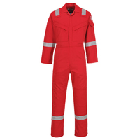 Portwest Flame Retardant and Antistatic Coverall Red
