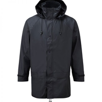 Fortress 220 Navy Flex Rain Jacket