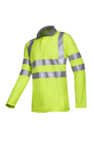Sioen Eltow Flame retardant, anti-static hi-vis polo-shirt