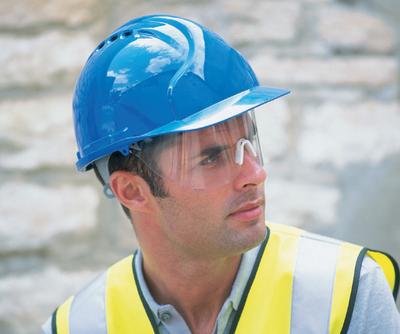 JSP Mark 7 Hard Hat/Helmet (Terylene Harness)
