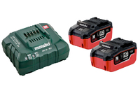 Metabo Battery Set 2 x 5.5Ah Li-HD & Charger