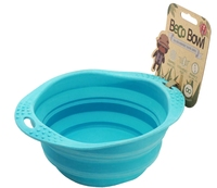 Beco Silicone Collapsible Trave Bowl - Large Blue x 1