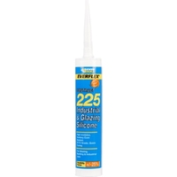 EVERBUILD 225 CLEAR INDUSTRIAL & GLAZING SILICONE