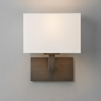 ASTRO CONNAUGHT BRONZE WALL LIGHT COMPLETE WITH SHADE