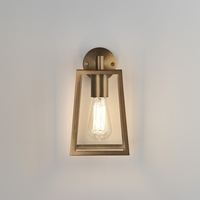ASTRO CALVI WALL 215 ANTIQUE BRASS IP23