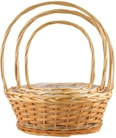 Amelia Willow Basket Round Set of 3