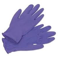 Gloves Nitrile Purple Medium 100'S