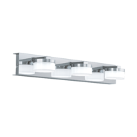 EGLO Romendo 1 Polished Chrome, Triple Spot Wall Light LED 3x7.2w | LV1902.0030
