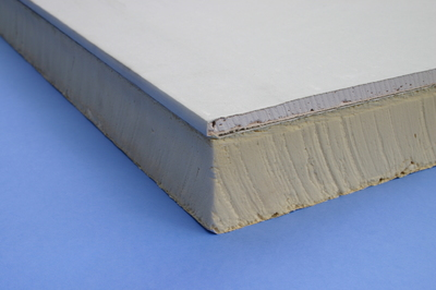 Insulated Plasterboard 83mm (8x4 ft)