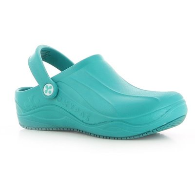Clog Smooth Aqua Size 5.5/39