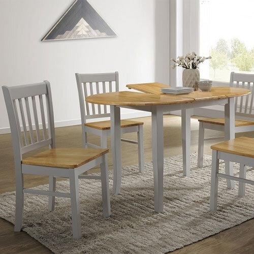 Thames Grey/Oak Dining Set