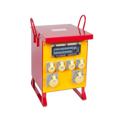 SFS 240/110V 1ph Site Transformer 8kVA Continuous (6 Sockets)