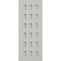 Schneider Ultimate Screwless Grid Painted White 18 Gang Ultimate Screwless LV0701.1453