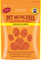 Pet Munchies Dog Treats - Chicken Chips 100g x 8
