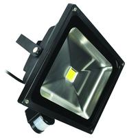 ECO 20W LED FLOODLIGHT C/W PIR SENSOR3100K
