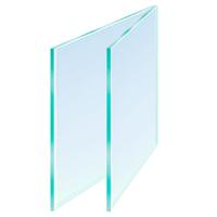 Glass 14 x 10in Cut Size