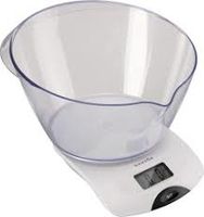 TERRAILLON DIGITAL KITCHEN SCALE WITH BOWL