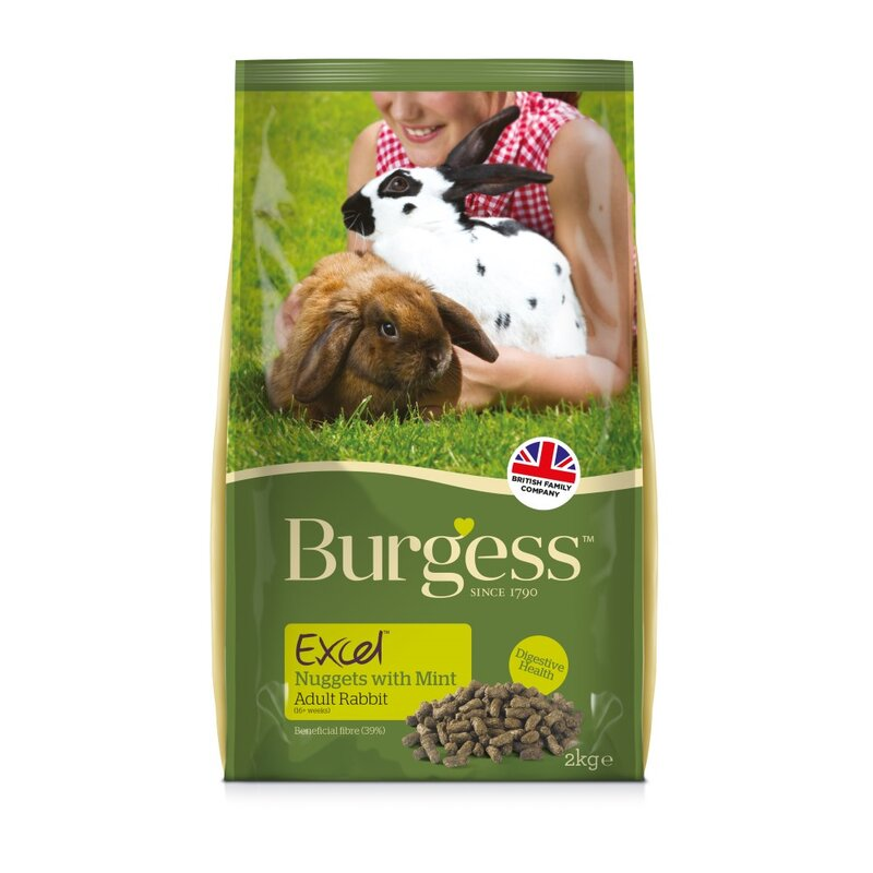 Burgess Excel Rabbit Nuggets 4kg