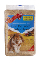 Norfolk Pastures Barley Straw 5kg x 1 [Zero VAT]