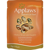 Applaws Cat Pouch Chicken & Pumpkin 70g x 12