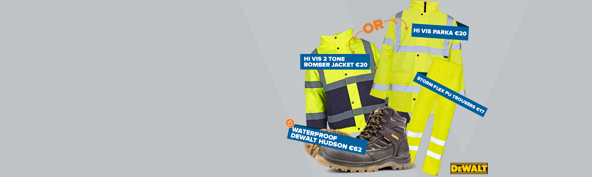 High Visibility Workwear Set All for only €99