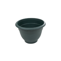 Bell Pot 28cm Round Planter Green