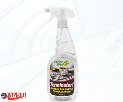 TERMINATOR! ANTIBACTERIAL CLEANER 6x750ml