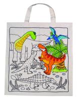 Dino Cotton Bag Lrg (P/Set Min 1 set)(6/Set)
