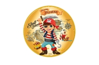 23A-214 Sugar Discs 16cm Pirates (1pk)