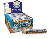 Johnson's Budgie & Parakeet Honey Bars x 40