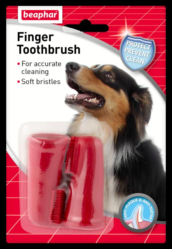 Beaphar Canac Finger Tooth Brush x 6