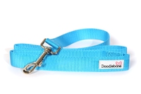 Doodlebone Bold Nylon Lead 20mm x 1.2m - Blue x 1