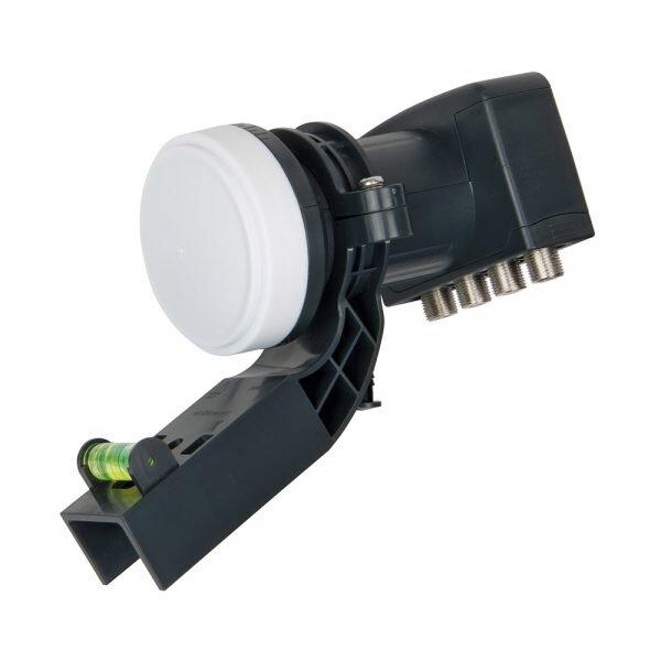 Labgear Universal Quad LNB 4-Output with Sky compatible bracket