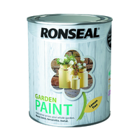 Ronseal Garden Paint 750ml Lemon Tree