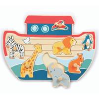 Noah's ark peg puzzle