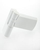 PATRIOT PLUS DOOR HINGE 16MM WHITE