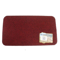 Ambassador Rib Mat No2 40x70, Red