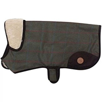 "Country Pet Dog Coat - Tweed 30cm/12"" x 1"