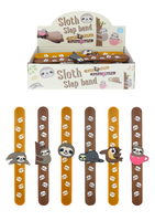 Bracelet Snap Sloth  (CDU of 24)