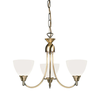 Alton 3 LT Pendant Antique Brass