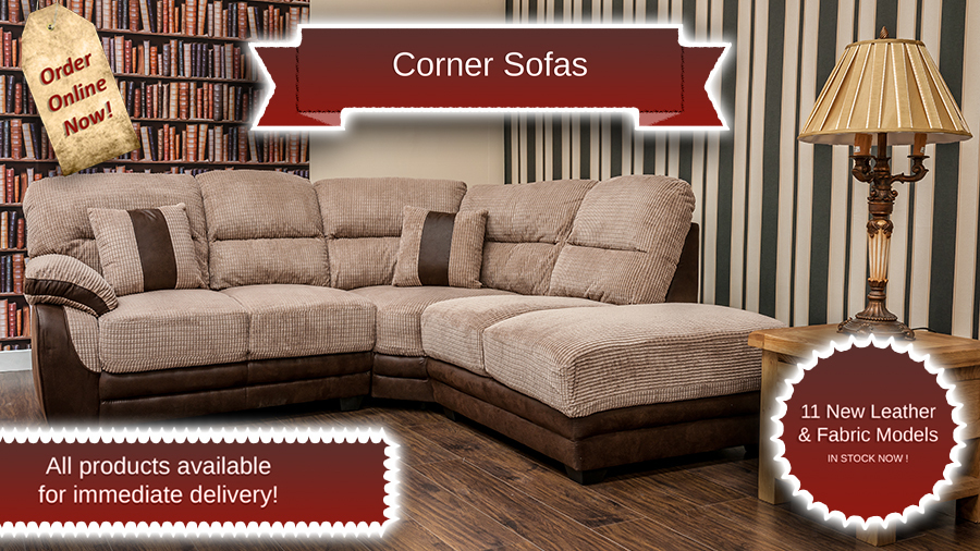 Leather Sofas, New season collection in stock now. order online now.