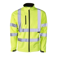 Supertouch Hi Vis Softshell Jacket