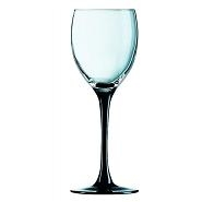 Domino Wine Goblet BlackStem8.75oz25cl LCE 175ml Carton of12