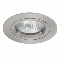 SATIN CHROME IP44 TWISTLOCK BATHROOM DOWNLIGHT | LV1002.0031